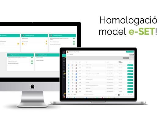 Homologació model eSET