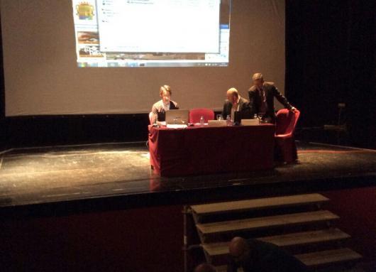 Presentación de la Video Acta en Almería