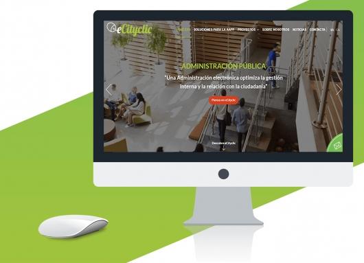 Nuevo diseño web eCityclic