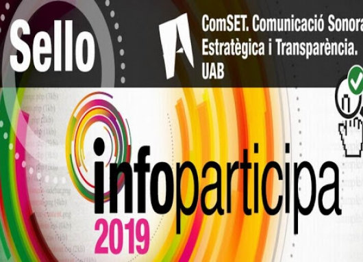 Sello Infoparticipa 2019 - 2020