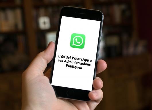 El uso de Whatsapp en la Administración Pública