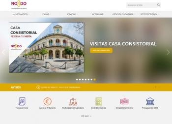 Ayuntamiento Sevilla diseño web