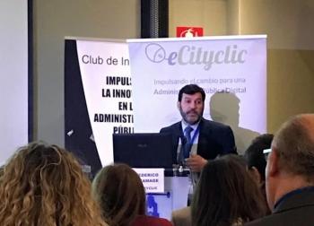 Federico Gramage en el CNIS 2018.