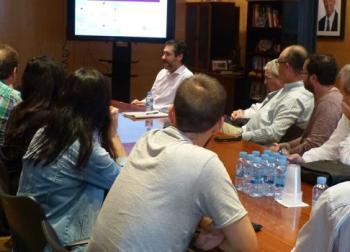 Reunión con el Ayuntamiento de Salou