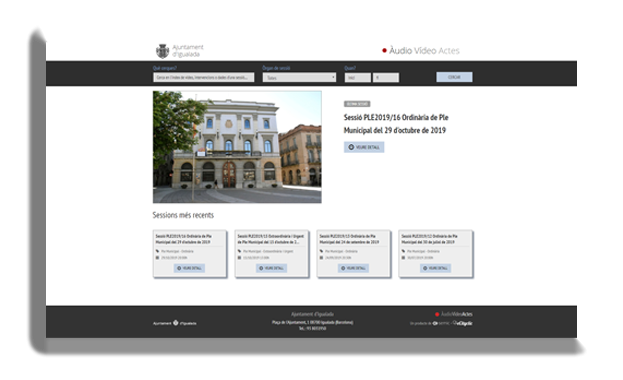 Plataforma AVA Ajuntament Igualada