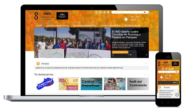 Portal Web IMD Sevilla