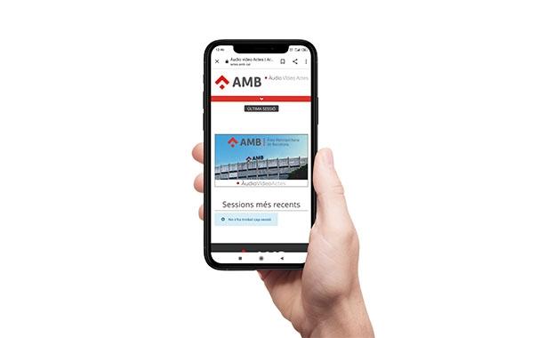 Imatge de Àudio Video Actes - AMB