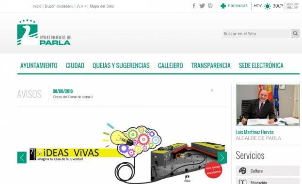 Imagen de Portal Web Municipal - Ayuntamiento de Parla