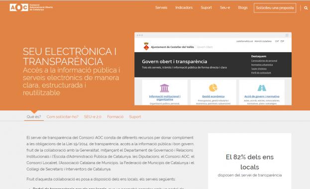 Imatge de Portal de transparència i dades obertes - AOC