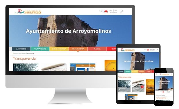 Portal Web Municipal Ayuntamiento de Arroyomolinos