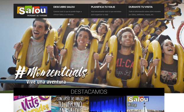Imagen de Portal Web Municipal y Marketing Online - Patronato de Turismo de Salou