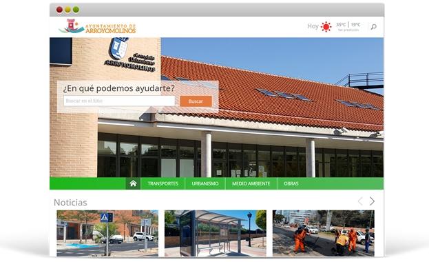 Portal Web Ayuntamiento de Arroyomolinos