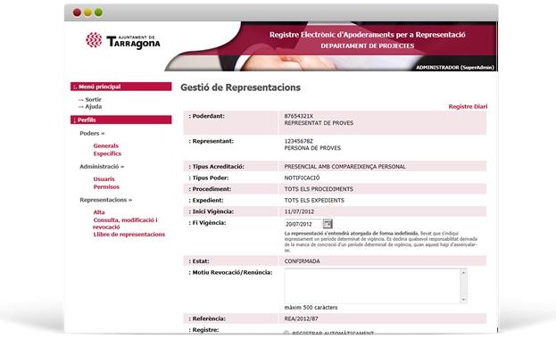 Registro Electrónico de Apoderamientos