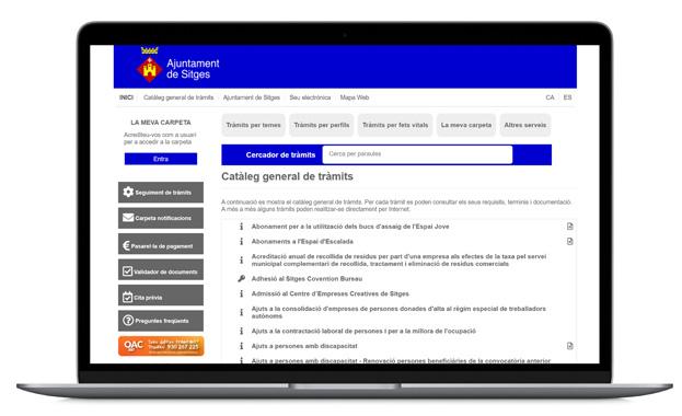 Plataforma de Tràmits Online 0